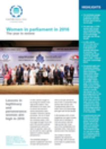 IPU Report – Women in parliament in 2016: The year in review