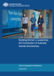 Building Women's Leadership: the Contribution of Australia Awards Scholarships