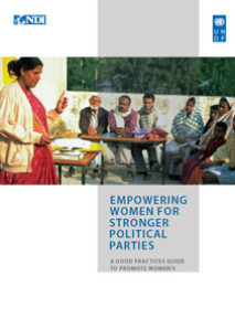 Empowering Women for Stronger Political Parties: A Guidebook to Promote Women's Political Participation