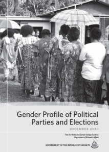 Vanuatu: Gender Profiles of Political Parties and Elections