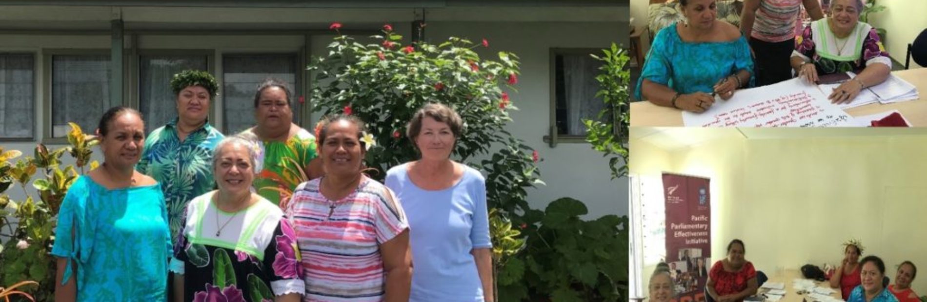 Cook Islands workshop on development of Women Parliamentarians caucus, March 2018.