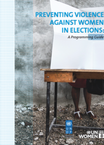 Preventing violence against women in elections: A programming guide
